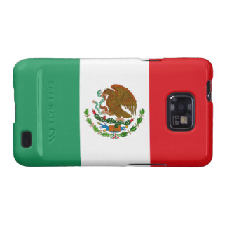 Mexican Flag Samsung Galaxy S Case-Mate Bare Galaxy S2 Covers