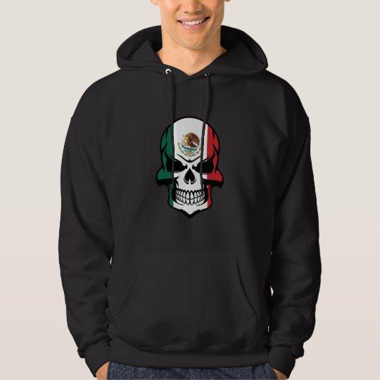 Mexican Flag Skull Hoodie