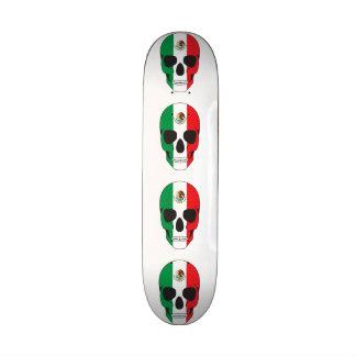 Mexican Flag Skull Skate Decks