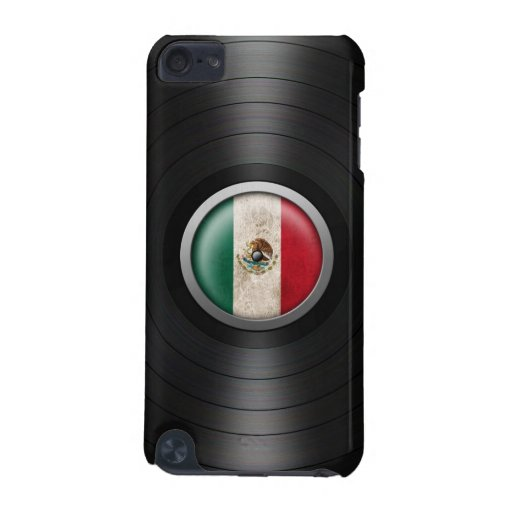 Mexican Flag Vinyl Record Album Graphic iPod Touch 5G Cases