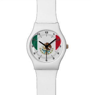 Mexican flag watch