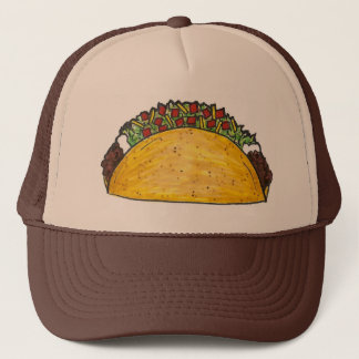 Mexican Food Foodie Taco Tacos Cinco de Mayo Hat