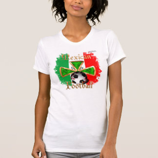 Mexican Football Spice Ladies Petite T-Shirt