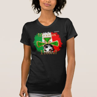 Mexican Football Spice Ladies Twofer Shirt