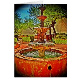 Mexican Fountain Card