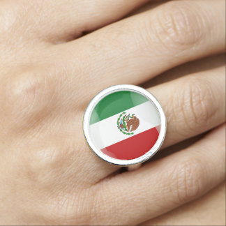 Mexican glossy flag
