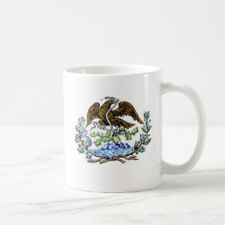 Mexican golden eagle coffee mug