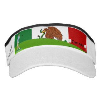 Mexican golfer visor