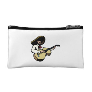 mexican guitar player.png makeup bag