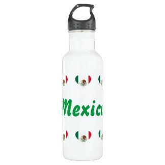 Mexican hearts 710 ml water bottle