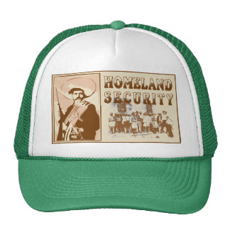 Mexican Homeland Security Hats