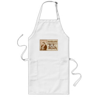 Mexican Homeland Security Long Apron