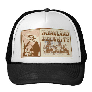 Mexican Homeland Security Mesh Hat