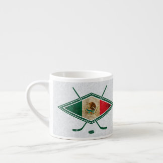 Mexican Ice Hockey Flag Mug