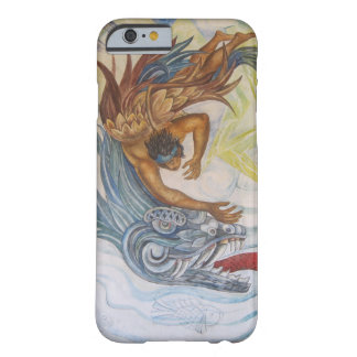 Mexican Indian and dragon Design iPhone 6 Case