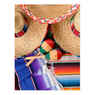 Mexican Items postcard