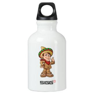 mexican kid cartoon. SIGG traveller 0.3L water bottle
