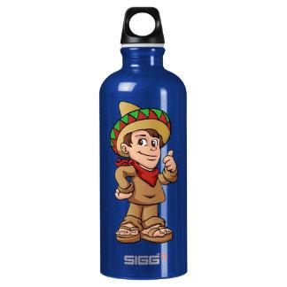 mexican kid cartoon. SIGG traveller 0.6L water bottle