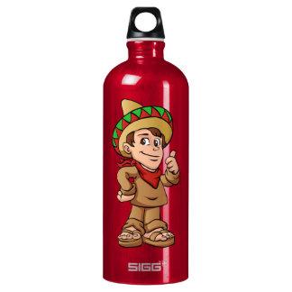 mexican kid cartoon. SIGG traveller 1.0L water bottle