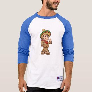 mexican kid cartoon. T-Shirt