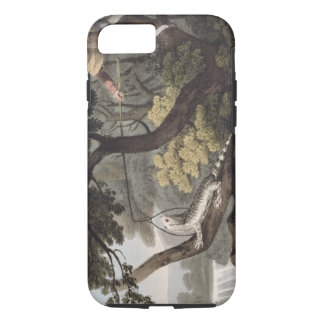 Mexican Lizard Catcher, engraved by Matthew Dubour iPhone 7 Case
