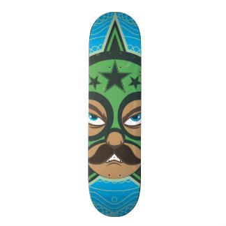 Mexican Luchador 18.1 Cm Old School Skateboard Deck