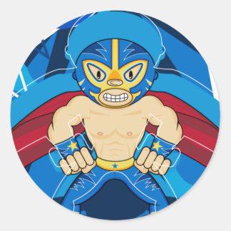 Mexican Luchador Wrestler Sticker