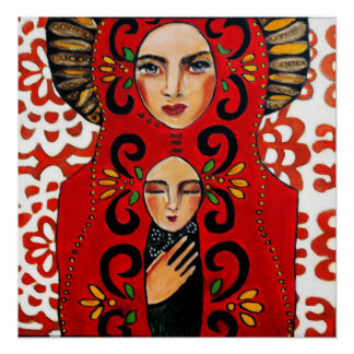 Mexican Madonna - Bonorand Art Poster