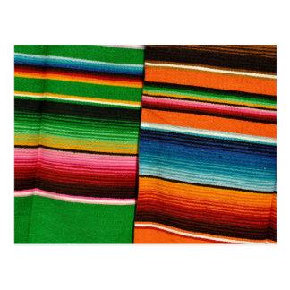 Mexican Mayan Blanket Postcard