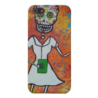 Mexican Nurse Day of the Dead Iphone Case iPhone 5 Covers