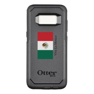 Mexican pride Flag Viva la Mexico OtterBox Commuter Samsung Galaxy S8 Case