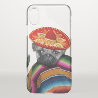 Mexican Pug Dog iphone x case