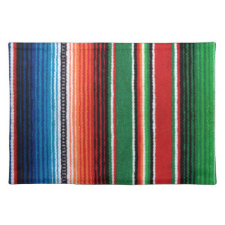 Mexican Sarape placemats