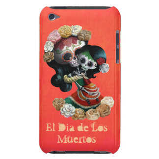 Mexican Skeleton Motherly Love Barely There iPod Cases