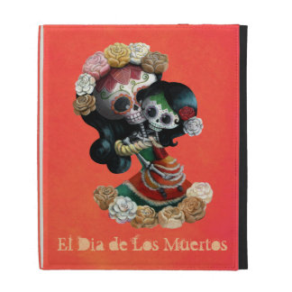 Mexican Skeleton Motherly Love iPad Case