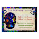 Mexican Skull 3D Festive Customs Tattoo Pack Of Chubby Business Cards