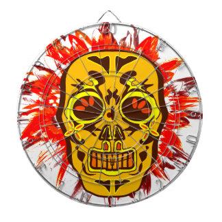 Mexican Skull Dartboard