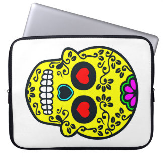 mexican skull Laptop Sleeve 15 inch
