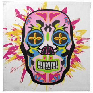 Mexican Skull Napkin