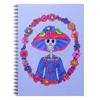 Mexican Skull Notebook