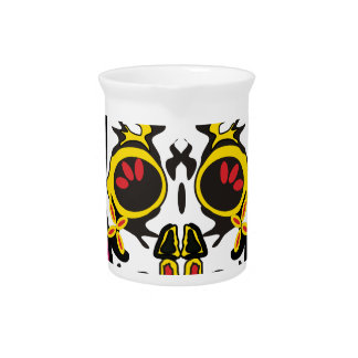 Mexican Skull Pitcher