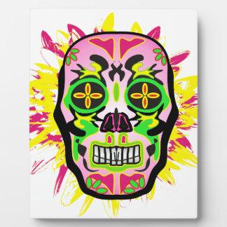 Mexican Skull Plaque