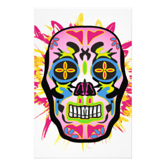 Mexican Skull Stationery