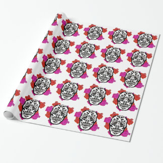 Mexican Skull Wrapping Paper