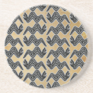 Mexican Snake Sandstone Coaster