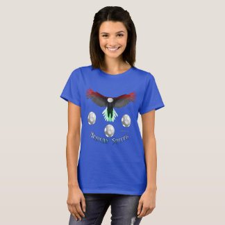Mexican Soccer Eagle Ladies T-Shirt