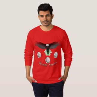 Mexican Soccer Eagle Men's Long Sleeve Shirt