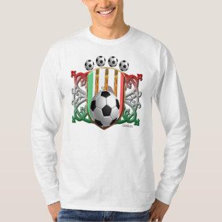 Mexican Soccer Power Men's Long Sleeve Shirt