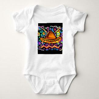 Mexican Sombrero Baby Bodysuit