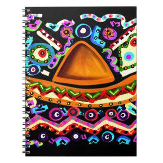 Mexican Sombrero Notebook